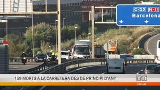 Dos morts en dos accidents de trànsit