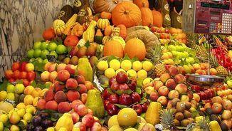 Fruita fresca al mercat