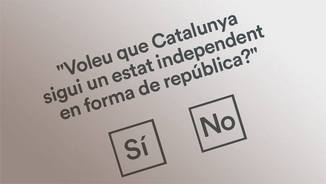 La possible papereta del referèndum de l'1-O