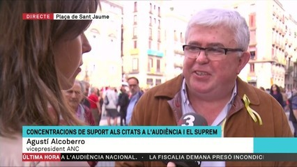 """Agustí Alcoberro: """"Tots els partidaris de la República Catalana hem de convertir aquestes eleccions en un nou plebiscit a favor de la república"""""""