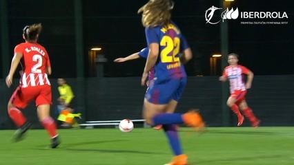 Resum del Barça (femení), 1 - Atlètic de Madrid, 1