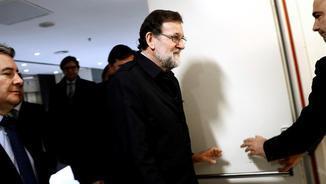 Rajoy, la setmana passada al Congrés dels Diputats (EFE)