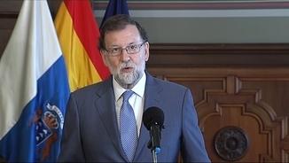 Mariano Rajoy, aquest dissabte a Las Palmas de Gran Canaria