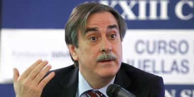 El ministre de Treball, Valeriano Gómez