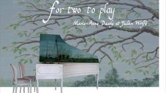 """For two to play. Marie-Anne Dachy, Julien Wolfs"" i ""Corina Marti. Yizhar Karshon. Charles Dieupart"""