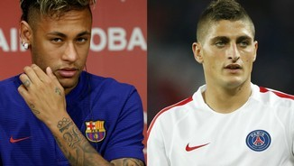 Neyma i Verratti, collage