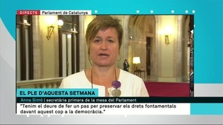 "Anna Simó (ERC): ""Som a la setmana definitiva"""