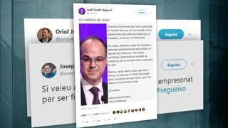 Els tuits que Junqueras, Rull i Turull van deixar a punt per si entraven a presó