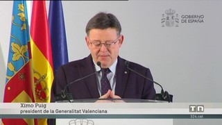 Ximo Puig reclama Rajoy acabar amb la concepció radial de les infraestructures i la política