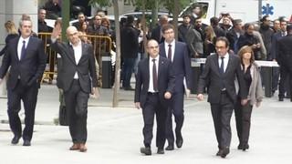 Els àudios de les declaracions dels consellers del govern Puigdemont