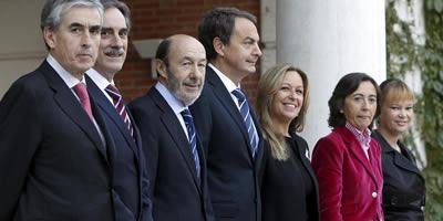 Rubalcaba: les prioritats del govern són la recuperació de l'economia i el treball garantint la cohesió social