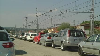Problemes per accedir a l'estació de Renfe de Sant Celoni