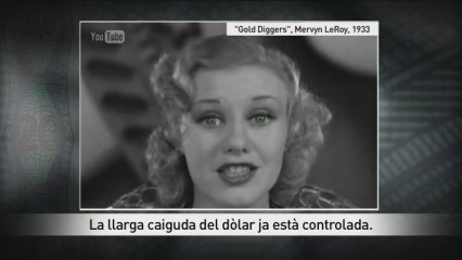 "Ginger Rogers canta ""We're in the money"""