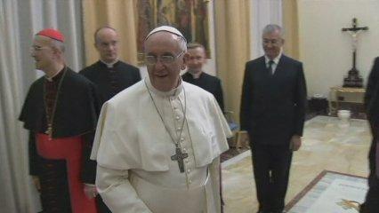 El Papa rep una visita de víctimes d'abusos sexuals