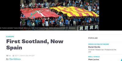 """Bloomberg insta Rajoy a """"reconèixer els errors del seu partit"""" i que deixi votar els catalans"""