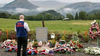 Monument commemoratiu per l'accident de Germanwings als Alps (Reuters)