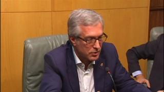 Ballesteros anuncia que s'estan buscant fòrmules perquè arribin els 9 milions de l'estat a temps pels Jocs Meditarranis Tarragona 2017.