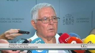 Foment es compromet a soterrar les vies de l'AVE a Múrcia després de l'aturada de les protestes