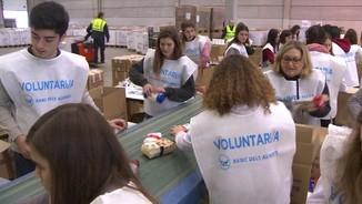El Gran Recapte recull més de 4.000 tones de menjar solidari