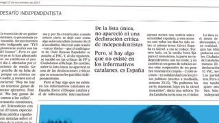 """""""El País"""", condemnat a publicar una rectificació per un article crític sobre TV3"""