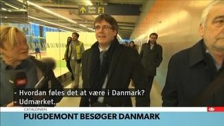 Informació de Puigdemont a la TV danesa DR