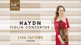 HAYDN: VIOLIN CONCERTOS - LISA JACOBS & THE STRING SOLOISTS (COBRA RECORDS)
