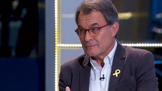 """Artur Mas apunta que des de Madrid """"es mouen fils"""" per repetir les eleccions"""