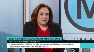 """Ada Colau: """"La de Barcelona era la millor candidatura tècnica, però hi ha altres raons que se'ns escapen"""""""