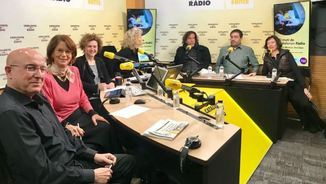 Joan M.Tresserras, E.Giménez Salinas, Mònica Sabata, Mònica Terribas, Ramon Grosfoguel, Alejandro Tercero i Simona Levi