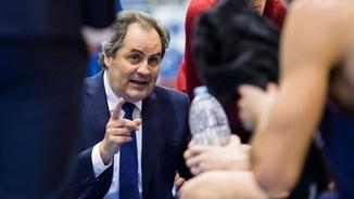Alfred Julbe, entrenador interí del Barça de bàsquet