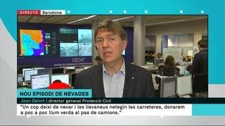 Catalunya enfarinada: es manté el risc a les carreteres i la prohibició de circulació de camions