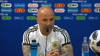 "Sampaoli: ""Soc el responsable de prendre les decisions"""