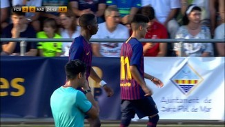 The Cup 2018 Torneig Juvenil Sant Pol: FC Barcelona-R Madrid