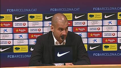 Guardiola defensa Laporta