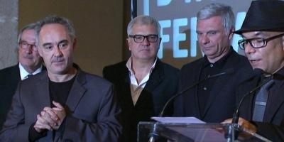 Ferran Adrià i Tricicle, Ramblistes d'Honor 2012