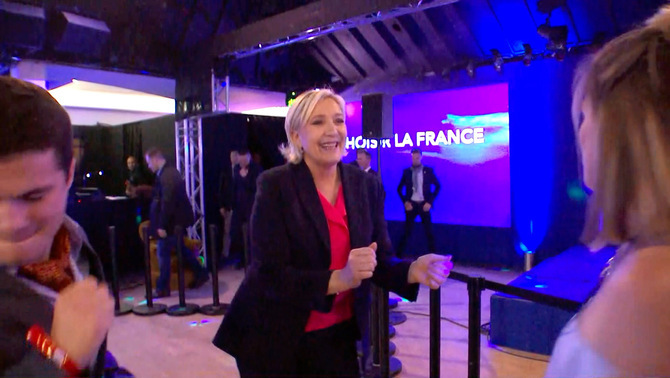 """I love rock and roll"", de Le Pen"