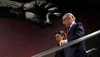 El ministre Montoro, en un acte a Madrid (EFE)