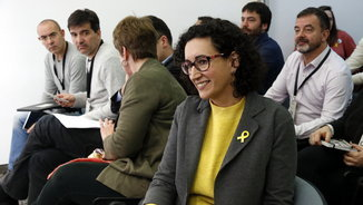"""Marta Rovira: """"No ens podem permetre que el PP continuï governant&#x3B; cal buscar aliances"""""""