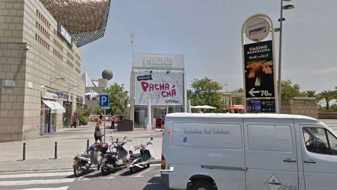 Discoteca Pacha de Barcelona (Google Street Views)