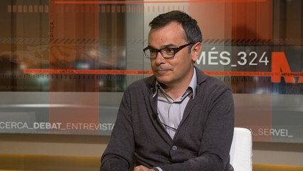 """Entrevista a Oriol Bartomeus, politòleg. Acaba de publicar l'assaig """"El terratrèmol silenciós. Relleu generacional i transformació del comportament electoral a Catalunya"""""""