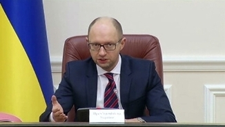 El primer ministre d'Ucraïna, Arseni Iatseniuk
