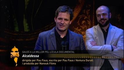 "Millor pel·lícula documental: ""Alcaldessa"""