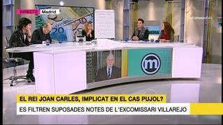 Taula del (30/01/17) sobre el rei Joan Carles i el cas Pujol