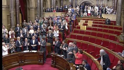 L'aprovació de la llei del referèndum