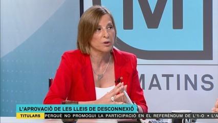 """Forcadell: """"L'Estat espanyol només ha volgut judicialitzar la política."""""""
