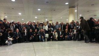 Alcaldes catalans al Prat