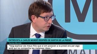 """Carles Mundó: """"Ens hem emocionat moltes vegades i hem plorat, però no ens hem enfonsat"""""""
