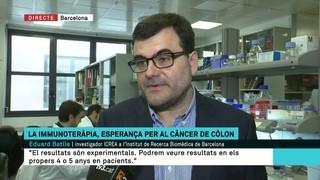 La immunoteràpia obre una porta a l'optimisme en el tractament del càncer de còlon