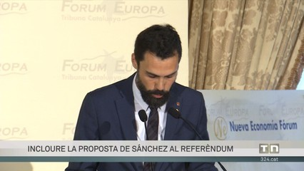 Roger Torrent: hem de donar-ho tot per passar del referèndum impossible al referèndum inevitable