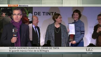 Núria Cadenes guanya el Crims de Tinta